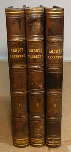 Trattato delle Pandette. 1a ed. tradotta da Serafini.