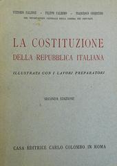 La Costituzione della Repubblica Italiana illustrata