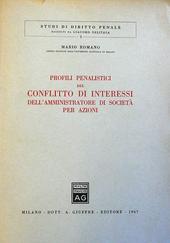 Profili penalistici del conflitto di interessi dell'amm