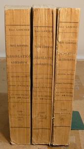 Il principale trattato sulla legislazione Algerina.