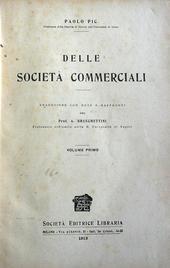 Delle Società Commerciali.