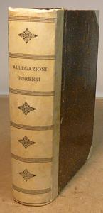 Allegazioni Forensi dell'Avv. G. Ferrazzani, 1899-1901.