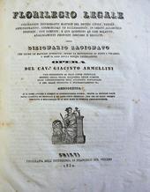 Florilegio Legale... ossia Dizionario Ragionato