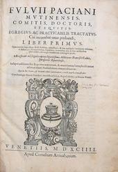Il trattato di Paciani sull'onere della prova 1a ediz.