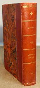 Trattato di medicina legale tradotto da A. Raffaele.