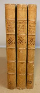 Il commento agli Statuti di Roma del Costantini -1737 -