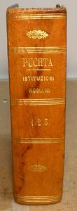 Corso delle Istituzioni di Puchta tradotto, ed milanese
