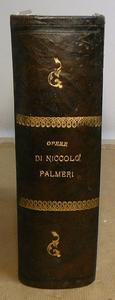 Le rara Opera Omnia dello storico e economista Palmieri