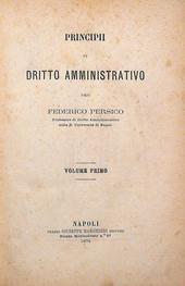 Persico. Principii di diritto amministrativo. 1a ed.