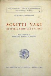 Scritti vari di storia religiosa e civile.