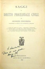 Saggi di diritto processuale civile + nuovi saggi.