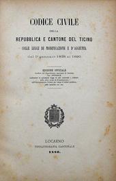 Codice Civile della Repubblica e Cantone del Ticino.