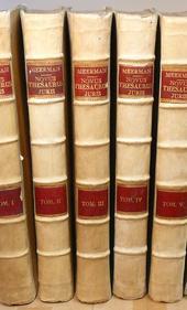 Meermann. Novus Thesaurus Juris Civilis et Canonici.