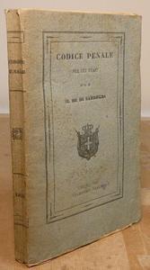 Codice Penale per gli Stati di S.M. il Re di Sardegna.