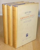 Studi in onore di Ernesto Eula nel suo XLV anno di
