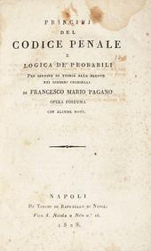 Principj del Codice Penale e Logica de' Probabili