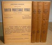 Manzini. Trattato di dir. processuale penale italiano.